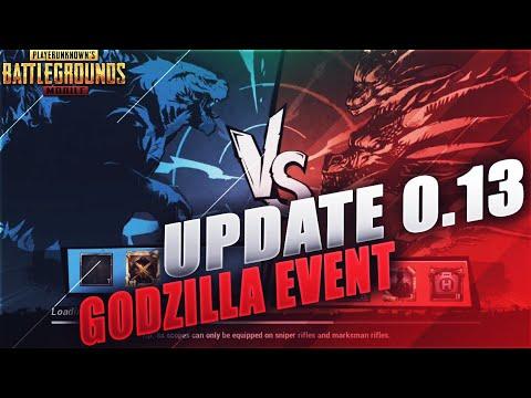 Pubg Mobile Update 0 13 0 Godzilla Event Bizon Gun Kar98k Lab