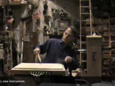 David A. Jaffe demonstrates Radiodrum performance of Trimpin piano and percussion