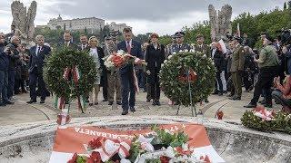 Uroczyste obchody 75. rocznicy Bitwy o Monte Cassino