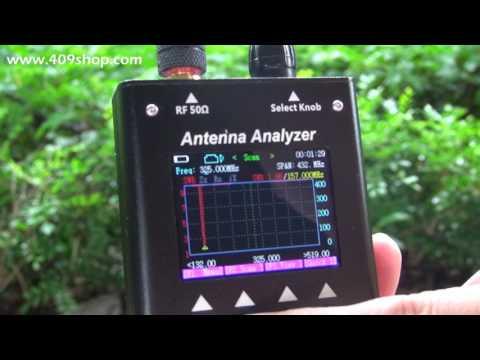 How to use SURECOM Antenna Analyzer SA-250