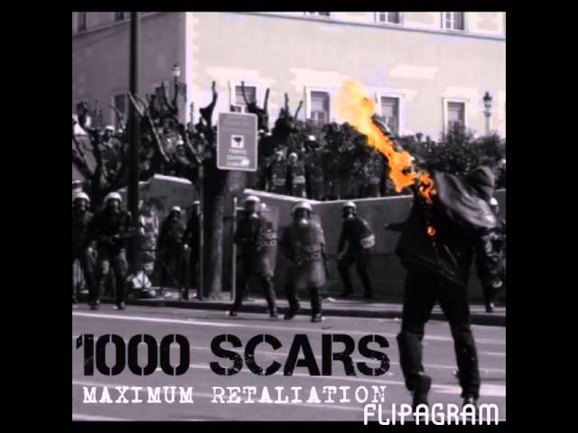 1000 Scars 'Fucked Off' taken from the EP 'Maximum Retaliation'