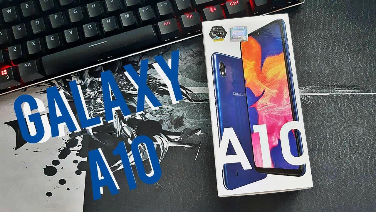 Galaxy A10 Qutuacma Videosu Youtube
