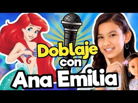FANDUB (Doblaje La Sirenita) con TV Ana Emilia/ Memo Aponte