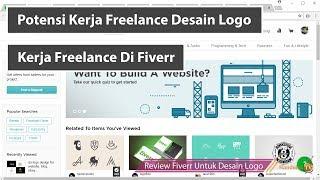 Potensi Kerja Freelance Desain Logo Di Fiverr Luar Biasa ( Kerjaan Sampingan )
