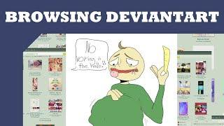 Browsing Deviantart: Baldi's Basics Fanart thumbnail