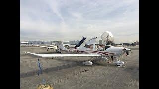 Diamond DA40 XLS from John Wayne to Bermuda Dunes