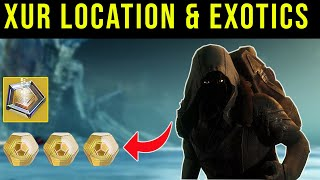 🔴LIVE - DESTINY 2 | XUR LOCATION AND EXOTICS | COUNTDOWN TO XUR!