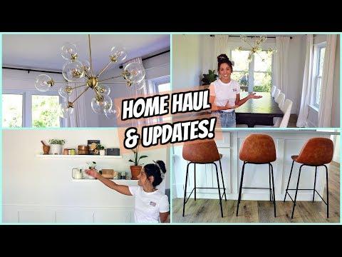 HOUSE UPDATES & HOME DECOR HAUL! SUMMER 2019!