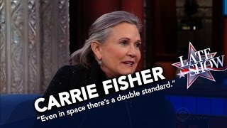 Carrie Fisher: Even In Space There's A Double Standard For Women