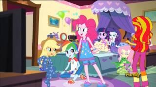 Rainbow Rock - (Incomplete) Slumber party scene