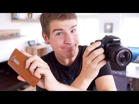 Können Smartphones DSLR-Kameras ersetzen? (LG G4 vs. Canon 650D) - felixba