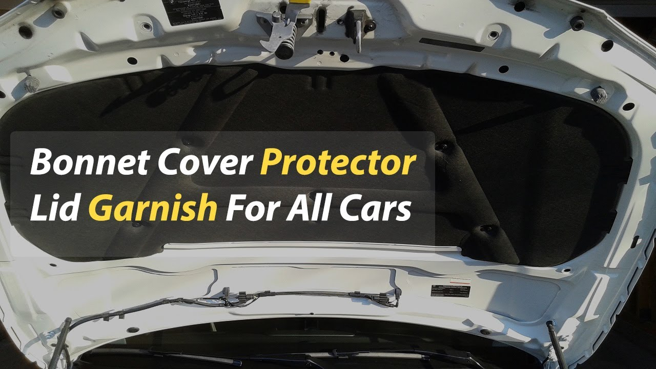 Buy Toyota Corolla Bonnet Cover Protector Lid Garnish Namda - Model  2017-2021 in Pakistan