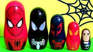 Homem Aranha Copinhos de Empilhar   Marvel Spiderman Stacking Cups