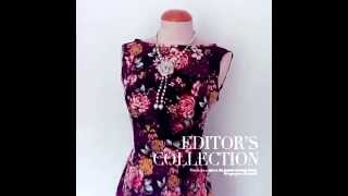 ReoRia   1950s rockabilly style floral vintage swing dress Thumbnail