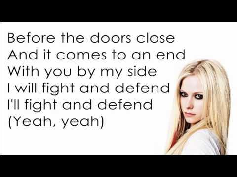 Avril Lavigne - Keep Holding On [Lyrics/Letra]