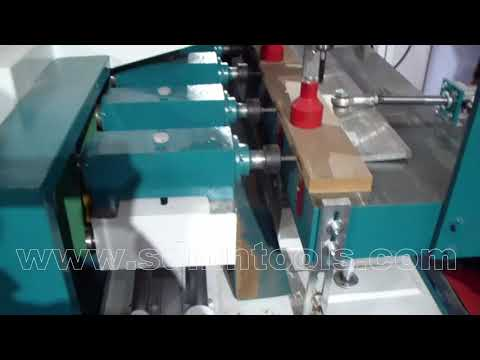 Baby bed multiple groove machine with vertical drilling function