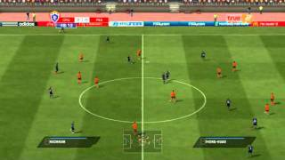 FIFA 11 : Thai Premier League Gameplay Chiangrai United vs Buriram PEA