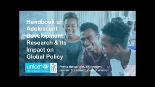 Presentation: Handbook of Adolescent Development Research and Its Impact on Global Policy