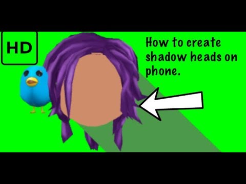 How To Create Roblox Shadow Heads On Ios And Android Youtube