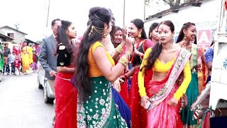 Tharu Wedding Dance// Beautiful Girls Dance