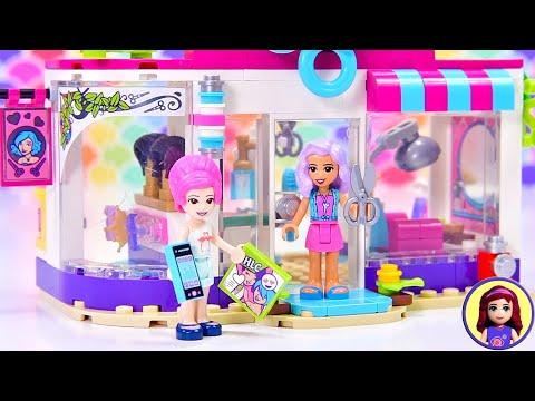 Does Heartlake City Really Need A New Hairdresser? Lego Friends Hair Salon Build