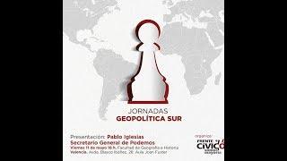 Presentación de las jornadas Geopolítica Sur