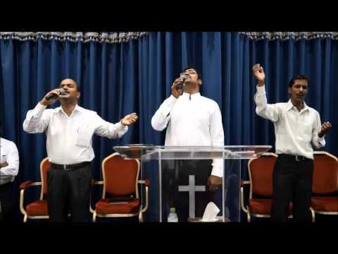 Live worship, Good Friday Service, Word of God Tamil Church, Doha Qatar