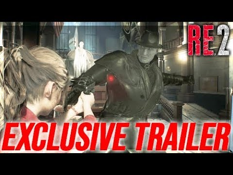 Resident Evil 2 Remake - Exclusive New Trailer -New Demo Details & More