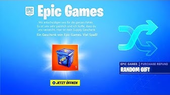 Epic Games entschuldigt sich bei uns! *Gratis Geschenk*