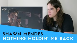 voice teacher reacts to shawn mendes   theres nothing holdin me back live