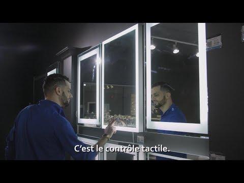 DECORAPORT MIROIRS LED, PROPULSÉ PAR LES DESIGNERS.