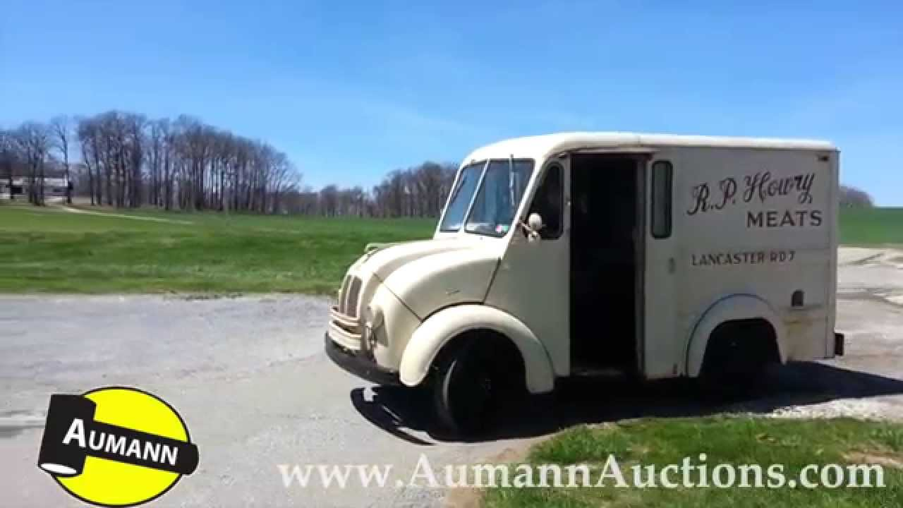 1956 Divco Meat Delivery Truck