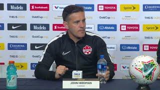 Press Conference: John Herdman - Canada (7) - (0) Cuba - Gold Cup 2019