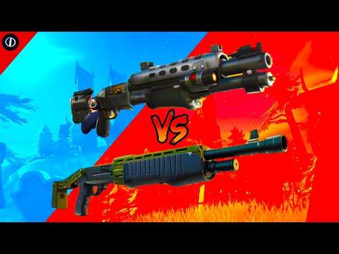 Fortnite: Tac Shotgun Vs. Pump Shotgun Chapter 2 Season 2