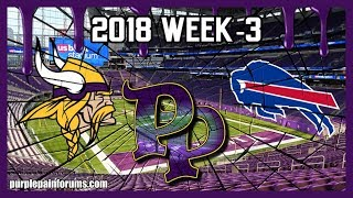 2018 Week-3 Minnesota Vikings vs Buffalo Bills
