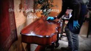 How To French Polish Antique Furniture.