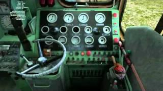 Видео-урок по управлению ТЭМ2 в RailWorks