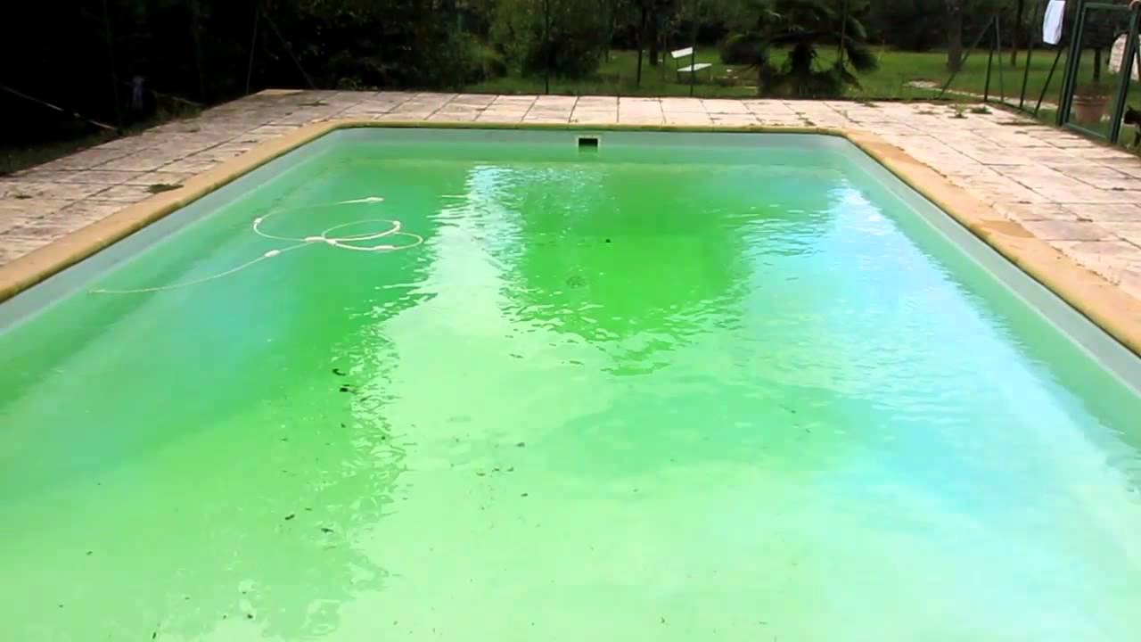 Piscine verte apr s des orages limpide en 2 minutes youtube - Ph piscine trop bas ...
