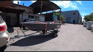 Отгрузка клиенту. Лодка Girgis 390. Базовая комплектация плюс центральный рундук.