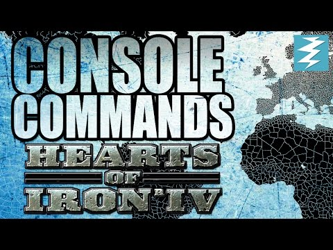HEARTS OF IRON 4 CHEATS! / Console commands - Hearts of Iron IV HOI4 Paradox Interactive