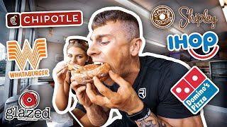 MY EPIC POST SHOW CHEAT DAY | 10,000+ CALORIES