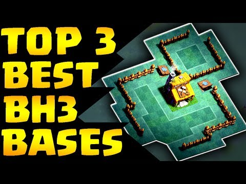 Clash of Clans: TOP 3 BEST BUILDER HALL 3 / BH3 / TH3 Builder Base w/ PROOF!
