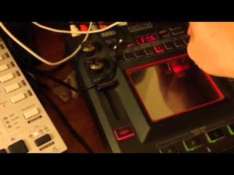 Monomachine controlling Korg KP3