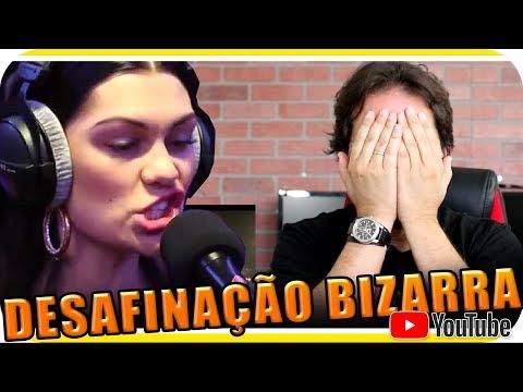 DESAFINAÇÃO BIZARRA COM JESSIE J KATY PERRY ARIANA CHRISTINA & SELENA Marcio Guerra