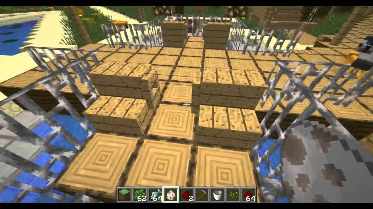 Minecraft Kreatywne Budowle 1 Ogrody Na Konkurs Huśka Youtube