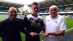 Steve Morison Lions Live player of the month  for August 2016