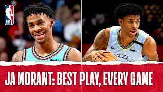 Ja Morant's Best Plays From Every Game!