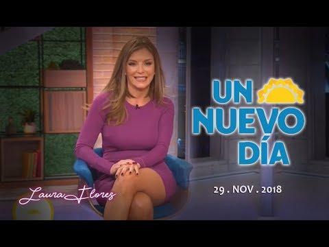 Laura Flores en Un Nuevo Dia - Jueves 29 Nov