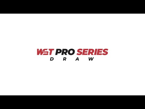 WST Pro Series Draw