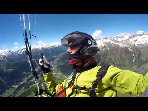 XC-flight from Fiesch on ADVANCE OMEGA X-Alps - June 2016
